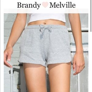 Brandy Melville Summer Grey Thermal Shorts